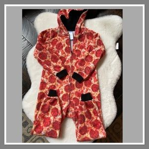 CHILDREN'S PLACE Pizza Hooded Kids PJ's